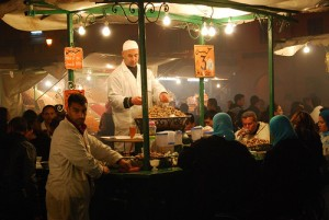 Place Djemaa el Fna – the Night Market of Marrakech