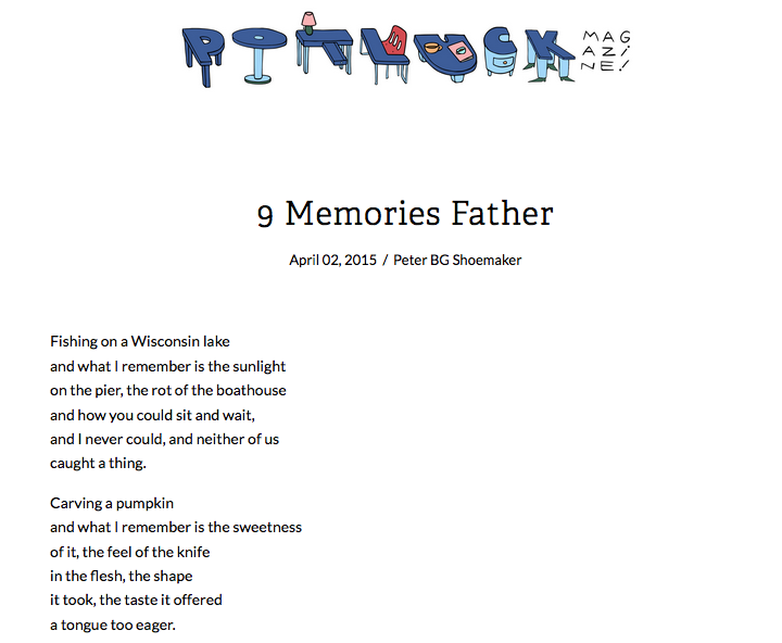 9 Memories Father